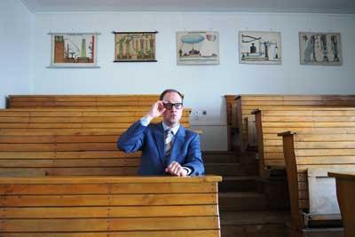 Christian Schliehe wird den Heinz-Erhardt-Abend nicht nur inszenieren, sondern spielt ihn auch selbst. Foto: Veranstalter.