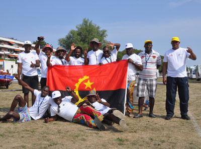 Zwölf Angolaner sind zur WM der Vaurien nach Travemünde gereist. Foto: Katrin Heidemann