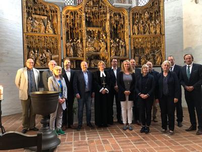Für einen weiten Horizont: Die Mitglieder des Beirates unterstützen den KDA Lübeck in seiner Arbeit. Foto: Ines Langhorst