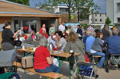 Im Quartiershäuschen gibt es kostenlose Kursen, Weiterbildungen und Beratungen. Archivfoto: AWO Lübeck.