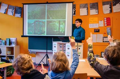 Projektleiter Thomas Franke ist Professor für Ingenieurpsychologie und Kognitive Ergonomie an der Uni Lübeck. Foto: Uni