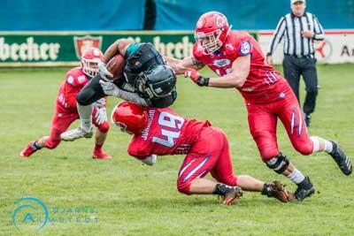 Die Cougars haben einen Lauf und feierten zuletzt fünf Siege in Serie. Foto: Bjarne Almstedt/HFR