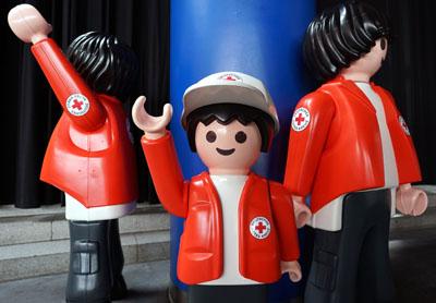 Das Rote Kreuz organisiert die Hilfe unter Nachbarn zunächst in St. Jürgen. Foto: JW/Symbolbild