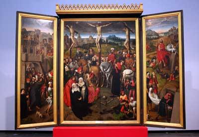 Der Memling-Altar im St.  Annen-Museum gilt als das wertvollstes Kunstwerk in Lübeck. Fotos: TD.