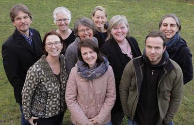 Die Initiative, will mit der Kleidertausch-Party einen Beitrag zur Nachhaltigkeit leisten. Foto: Nina Strugalle.