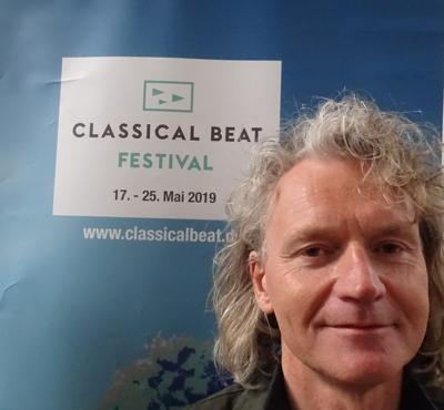 Eismusiker Terje Isungset aus Norwegen. Fotos und Audio: Harald Denckmann.