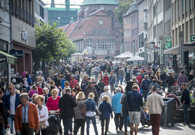 Trotz Online-Handel entwickelt sich der Einzelhandel in Lübeck gut. Foto: Wirtschaftsförderung Lübeck