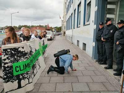 Fridays for future fordern Klimagerechtigkeit auf globaler und lokaler Ebene. Foto: FFF