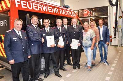 Die Freiwillige Feuerwehr hatte am letzten Freitag eine außerordentliche Monatsversammlung mit Wahlen und Ehrungen. Foto: Reporter