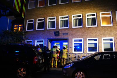 Die Polizei ermittelt wegen des Verdachts der Brandstiftung. Fotos: Oliver Klink.