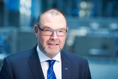 Robert Focke, Geschäftsführer der Nordischer Maschinenbau Rud. Baader, meldet eine steigende Auslastung in der Industrie. Foto: Nordmetall