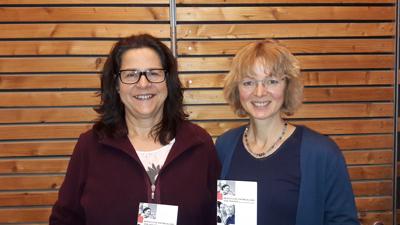 Von links:  Sabine Axt und Gudrun Dietrich. Foto: G. Stockelsdorf