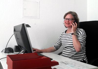 Kristine Goddemeyer und ihr Team konnten bereits 5555 Karten vermitteln. Foto: TD