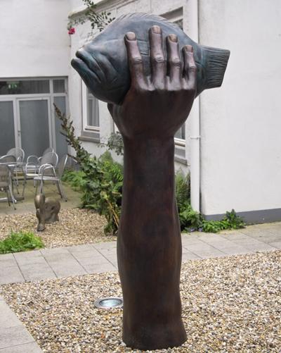 Anlässlich des vierten Todestags von Günter Grass treffen sich Freunde und Weggefährten im Günter Grass-Haus. Foto: JW.