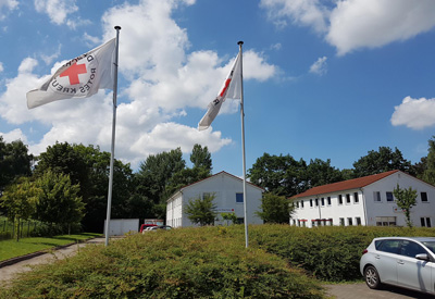 Das DRK Lübeck lädt am 31. August 2019 zum Stöbern in den Herrendamm ein. Foto: DRK.