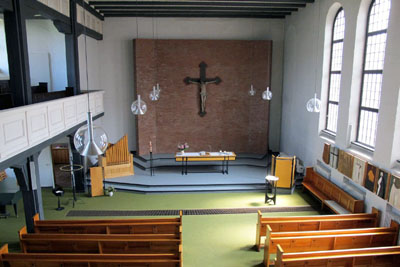 In St. Johannes können die Besucher des Gottesdienstes die Sakristei erkunden. Foto: Kirchenkreis
