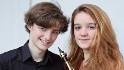 Anton Johann und Nora-Lisann Gross. Foto: Veranstalter.