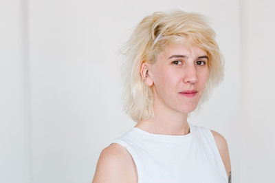 Annelies Kamen (*1988, USA) lebt und arbeitet in Berlin. Foto: Veranstalter
