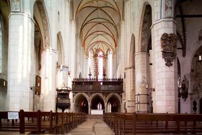 In der Katharinenkirche wird auch an diesem  Samstag die Konzertreihe fortgesetzt.
