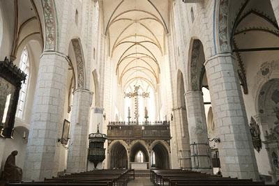 In der Katharinenkirche zu Lübeck läuft die Konzertsaison auf vollen Touren. Archivfoto: JW.
