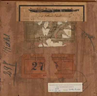 Die Provenienzforschung beschäftigt sich mit der Geschichte der Herkunft (Provenienz) von Kunstwerken. Foto: Museum Behnhaus Drägerhaus.