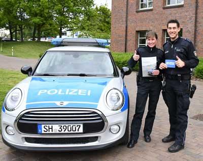 Eine Ausbildung im mittleren oder gehobenen Polizeivollzugsdienst bei der Landespolizei bietet vielfältige Einsatzmöglichkeiten. Foto: Agentur für Arbeit