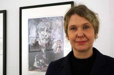 Dr. Antje-Britt Mählmann, Leiterin der Kunsthalle, möchte junge Menschen für ein persönliches kulturelles Engagement begeisteren. Archivfoto: JW.