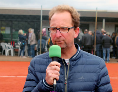 TuS-Teamchef und Trainer Markus Nagel. Foto: Volker Giering