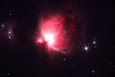 Der Orion Nebel. Foto: Veranstalter.