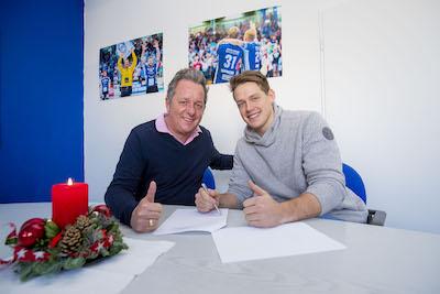 Jonas Ottsen wechselt in die zweite Liga. Foto: VfL Lübeck-Schwartau.