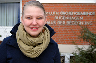 Pastorin Anne Mareike Müller wird das Fest an der Kirche eröffnen. Foto: Kirchenkreis/Archiv