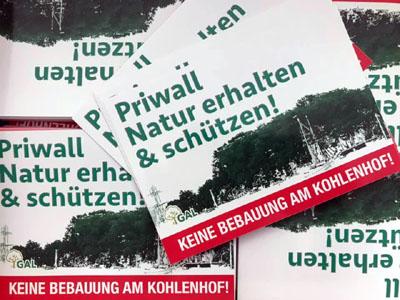 Erstes Ziel der Initiative ist eine Verhinderung der Bebauung der Kohlenhofspitze.