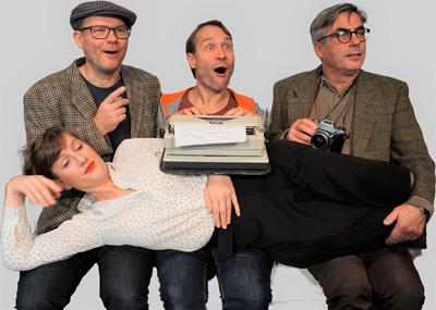Die Leipziger Pfeffermühle gastiert mit ihrem aktuellen Kabarett-Programm auf dem Theaterschiff. Foto: Veranstalter.