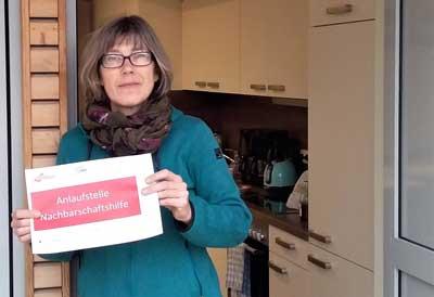 Quartiersmanagerin Claudia Zimmermann will in diesen schwierigen Zeiten eine Anlaufstelle sein. Foto: AWO