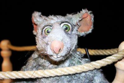 Bringt die Ratte Luzie die Abenteurer ans Ziel? Foto: Veranstalter