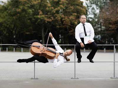 Eckart Runge und Jacques Ammon hatten Klassik und Jazz im Gepäck. Foto: SHMF/Nikolaj Lund