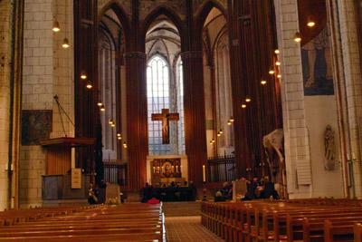 In St. Marien Lübeck gibt es eine lyrisch-musikalische Soiree.Foto: JW