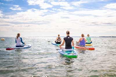 Das SUP ist eine Kombination aus Sport und Naturerlebnis und ein ganzheitliches Training vom Scheitel bis zur Sohle. Foto: TALB