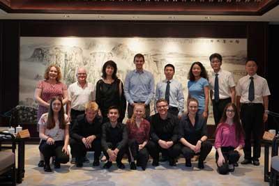 Die Delegation aus Lübeck wurde in das Hotel Shaoxing zu einem Reception Dinner geladen. Foto: phidomanagement