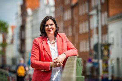 Die Lübecker Bundestagsabgeordnete Prof. Dr. Claudia Schmidtke hofft, dass die Maßnahmen die Sorgen ein wenig lindern können. Foto: Olaf Malzahn