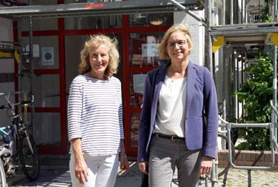 Heike Raddatz-Kossak und Johanne Hannemann stellten die neue Einrichtung am Dienstag vor. Foto: Lutz Regenberg