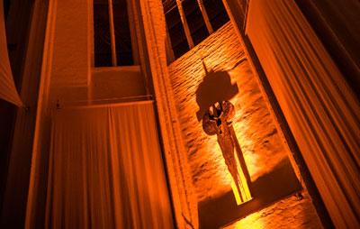Die Universitätskirche St. Petri zu Lübeck lädt zum fünften Abends der aktuellen Petrvisionen-Reihe ein. Foto: Thorsten Biet/St. Petri.