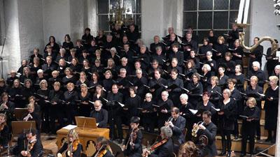 Der Lübecker Bach-Chor lädt zu einem Konzert in St. Aegidien ein. Foto: Veranstalter