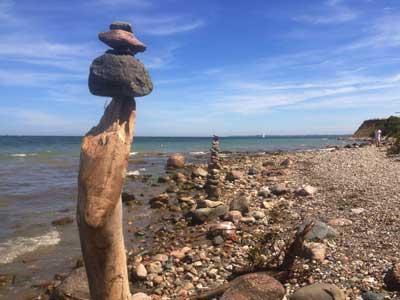 Mit fünf Exkursionen in die Welt der Steine ist das kommende Wochenende wieder besonders steinreich. Foto: GeoPark Nordisches Steinreich