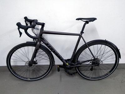 Der Eigentümer des Fahrrades hat den Diebstahl noch nicht angezeigt. Foto: PD Lübeck