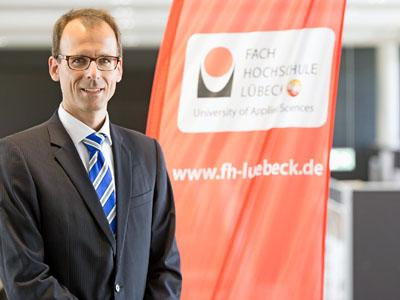 Dr. Jan Lüking übernahm zum 1. September die Professur für Geotechnik an der Technischen Hochschule in Lübeck. Foto: TH