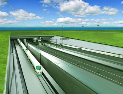 Die Gemeinden aus Ostholstein haben einem Vergleich für den Tunnelbau zugestimmt. Bild: Femarn A/S