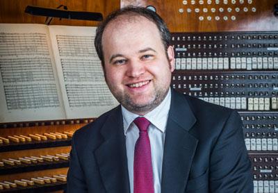 Marienorganist Johannes Unger gibt sein letztes Konzert des Jahres am 31. Dezember um 19 Uhr. Foto: St. Marien