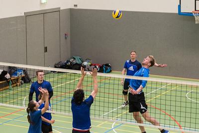 In Lübeck wird wieder Volleyball gespielt. Foto: Christian Wilde.