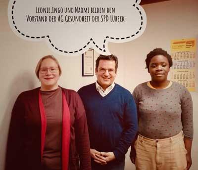 Der Vorstand der Arbeitsgemeinschaft für SozialdemokratInnen im Gesundheitswesen. Foto: ASG